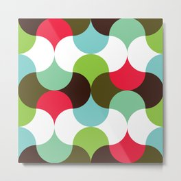 Geometric Pattern #8 (waves) Metal Print