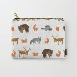 Forest creatures Carry-All Pouch