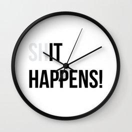 (sh)It Happens Wall Clock