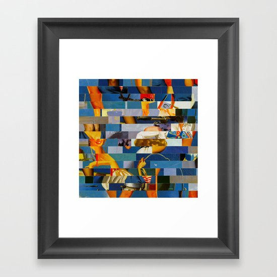 Shiver Me Ikea Timbers (Provenance Series) Framed Art Print