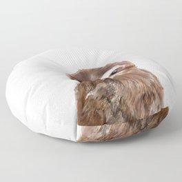Little Sloth Floor Pillow