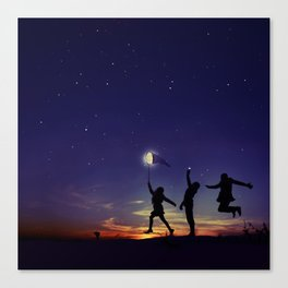 Friendship is the greatest adventure of all Canvas Print