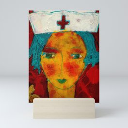 The Healer Mini Art Print
