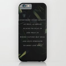 Beauty iPhone 6s Slim Case