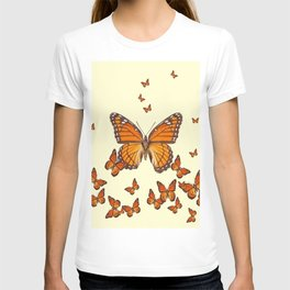 MONARCH BUTTERFLY SWARM T-shirt
