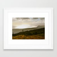 stay gold Framed Art Prints featuring Stay Gold by Memory Motel Photography & Art