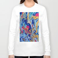 fringe Long Sleeve T-shirts featuring fringe by Glint & Lime Art
