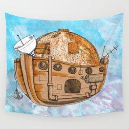 Nave : viagem no tempo Wall Tapestry