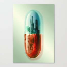 The Pill Canvas Print