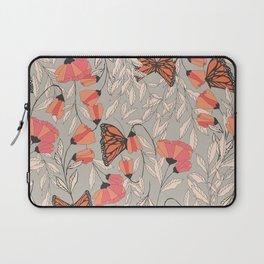 Monarch garden 001 Laptop Sleeve