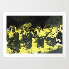 Women's Day March Art Print