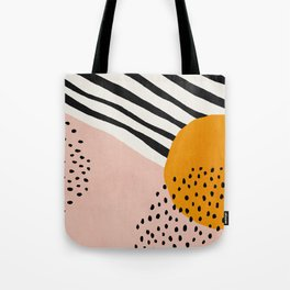 Abstract, Mid century modern art Tote Bag
