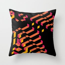 Funky / Hầm hố Throw Pillow