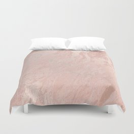 Rose Gold Foil Duvet Cover