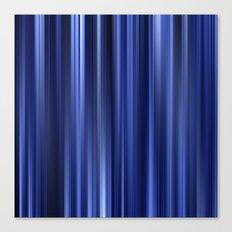 blue lines IV Canvas Print