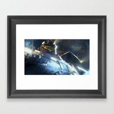 Vectorial Rim #4 Framed Art Print
