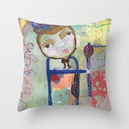 Motherless Child ( A.K.A ) Little Prince Throw Pillow
