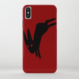 Black Rabbit iPhone Case