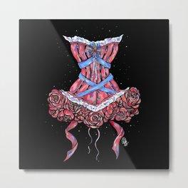 Ballerina dress Metal Print
