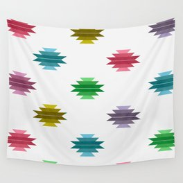 Cotton Candy Aztec Print Wall Tapestry
