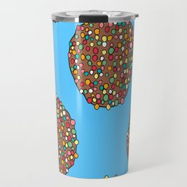 FRECKLES - BLUE Travel Mug
