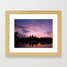 Ang Kor and the Sun Framed Art Print