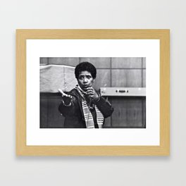 Audre Lorde - Black Culture - Black History Framed Art Print