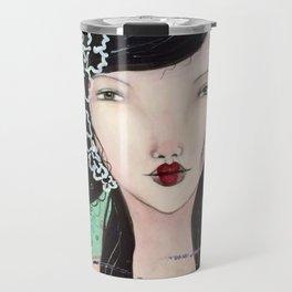 Geisha1Stamp Travel Mug