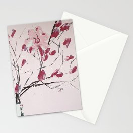 Pink on Pink Stationery Cards