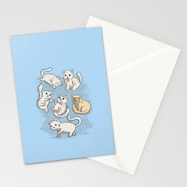 Cute Kittens Stationery Cards