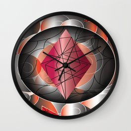 RedDiamond Wall Clock