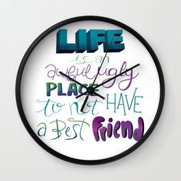 Someone Like You - Best Friend Wall Clock