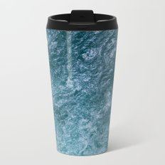 Mountain Waters II Vertical (Norway) Metal Travel Mug