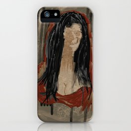 Red Mona iPhone Case