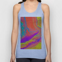 Psychedelic dream Unisex Tank Top