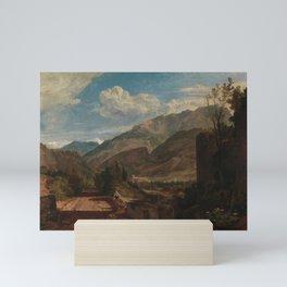 Chateaux de St. Michael, Bonneville, Savoy (1802-1803) by J.M.W. Turner Mini Art Print