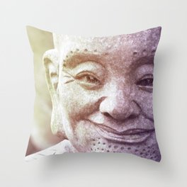 Bousan 01 Throw Pillow