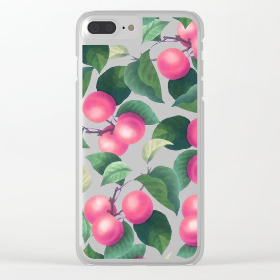 Tropical Fruit V2 #society6 #decor #buyart Clear iPhone Case