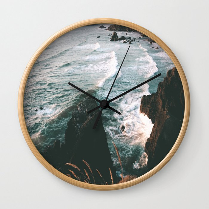 Oregon Coast IV Wall Clock
