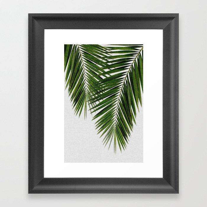 Palm Leaf II Gerahmter Kunstdruck