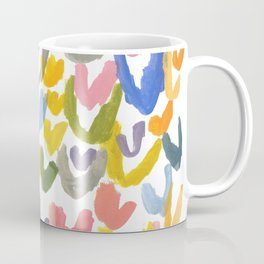 Abstract Letterforms 1 Coffee Mug