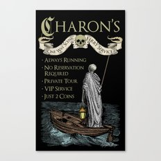 Charon's Ferry Service Canvas Print