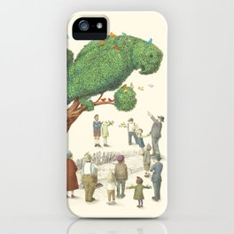 The Parrot Tree iPhone Case