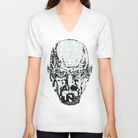 quotes V-neck T-shirts featuring Heisenberg Quotes by RicoMambo