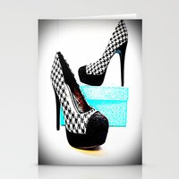 shoe Stationery Cards featuring Shoe Lust by 2sweet4words Designs