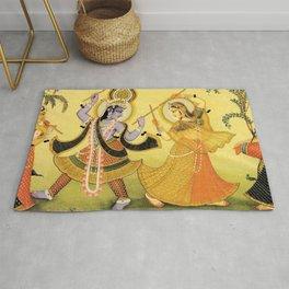 Krishna - Hindu Rug