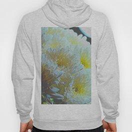 Chrysanthemums In White Light Hoody