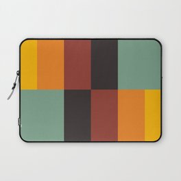 Stripes and swatches Laptop Sleeve