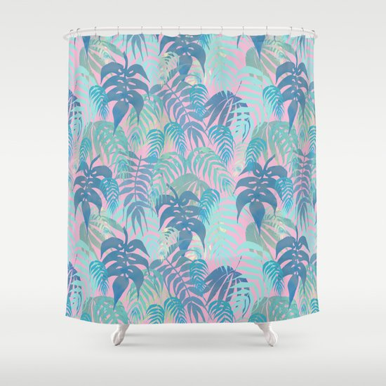 LOST - Pastel Shower Curtain