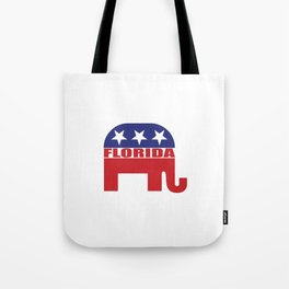Florida Republican Elephant Tote Bag
